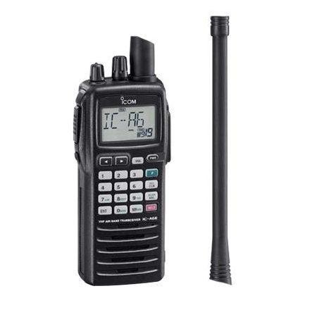 Icom IC-A6E repsávos rádió adó vevő